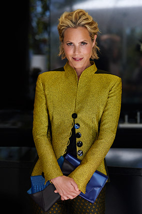 Fall Suits for Women - Maria Bello Modeling Suits