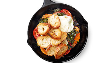 Tomato and Chard Bake