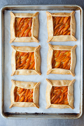 Apricot-Basil Galettes
