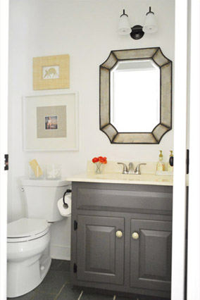 Young House Love bathroom makeover