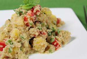 Amaranth Mango Salad