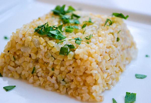 Bulgur Wheat Pilaf