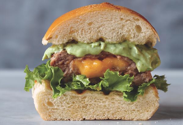 """Jucy Lucy"" Turkey Burgers"
