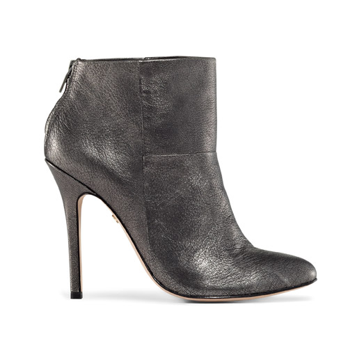 Charles David Silver Booties