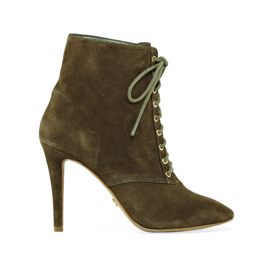 Victoria's Secret Lace-Up Heritage Booties