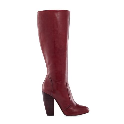 Nicole Chunky Heel Tall Boots