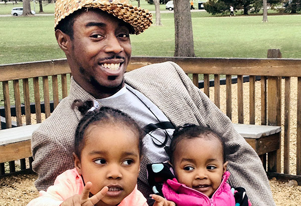 DJ Cavem and family