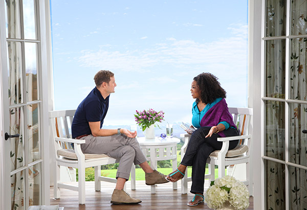 Oprah and Rob Bell