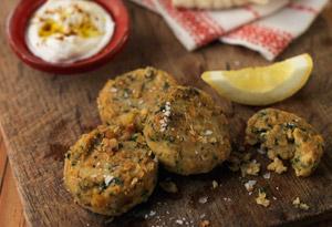 Chickpea Cakes (Falafel)