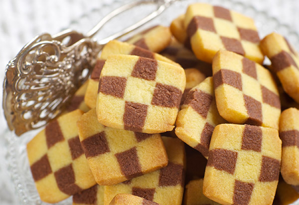Aunt Baby's Checkerboard Cookies