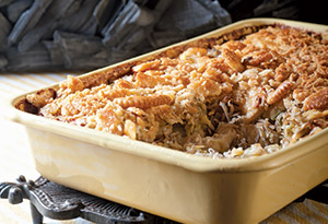 Classic Chicken and Wild Rice Hotdish