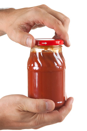 how to get the lid off a jar