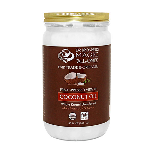 """Dr. Bronner's """"All-One"""" Coconut Oil"""