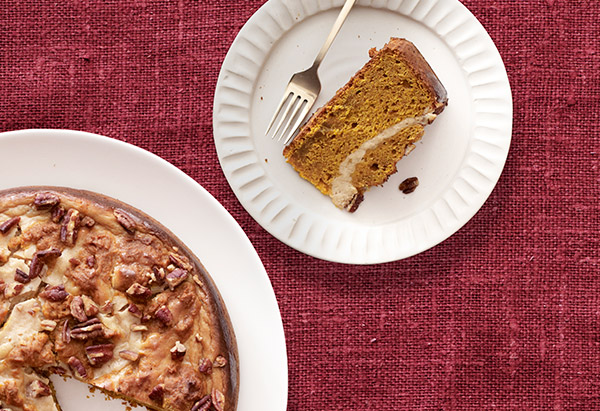 Pumpkin-Pecan Cake