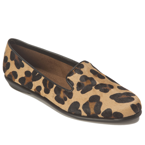 Cheetah-Print Loafers