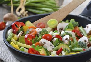Simple Skillet Vegetables