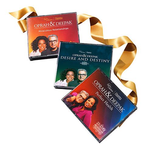 Oprah & Deepak's Meditation Master Trilogy