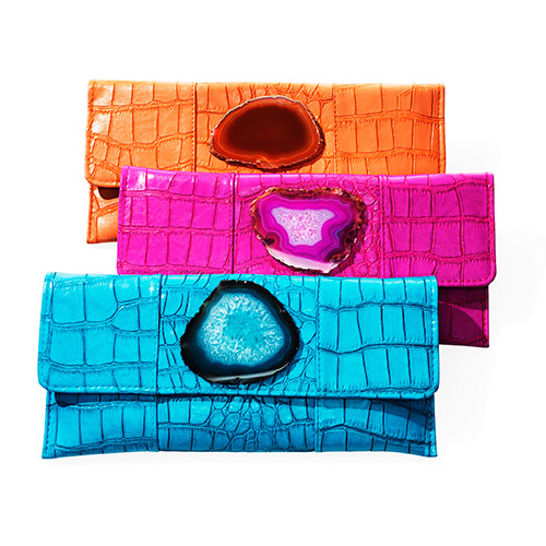 Agate Stone Clutches