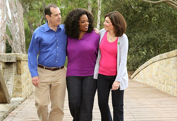 francine and david wheeler with oprah