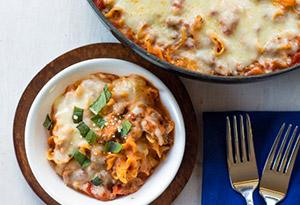 Easy One-Skillet Lasagna