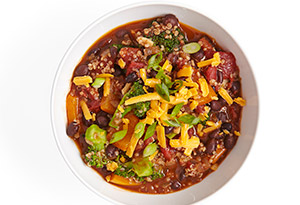 Quinoa-Black Bean Chili