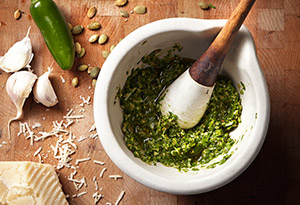 Spinach-Pepita Pesto Recipe