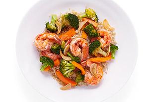 Smoky Shrimp Saute with Garlic