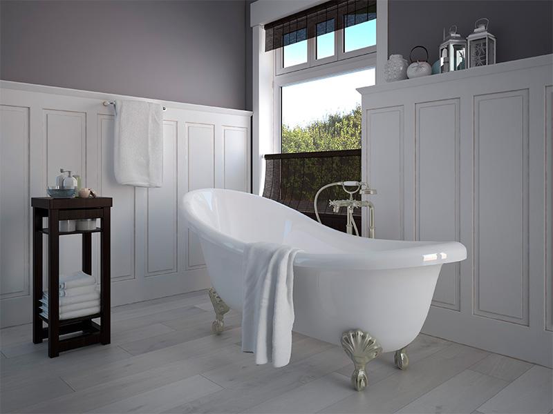 Inexpensive bathroom upgrades for Peindre salle de bain