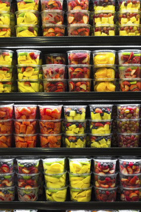 Precut fruit