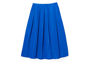 Silk-Blend Ball Skirt
