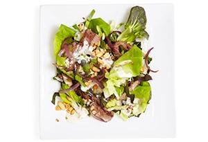 beef and bok choy salad