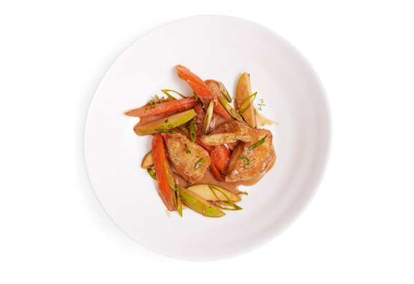 Chicken with Apples and Carrots