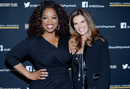 Oprah Winfrey and Maria Shriver