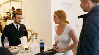 An Argument Between Lindsay Lohan and Her Assistant Gets Really Tense