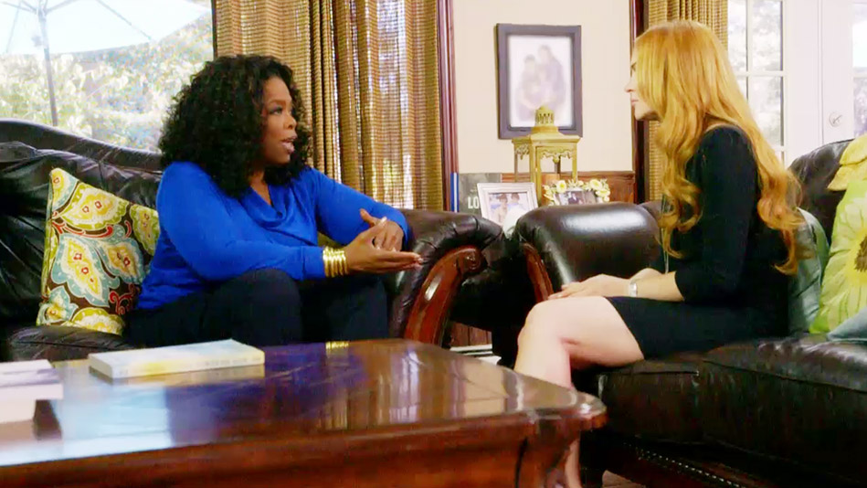 Oprah to Lindsay Lohan: You Need to Cut the Bull**** - Video