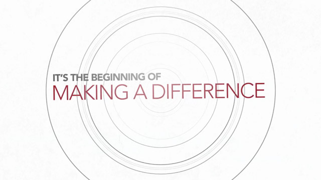 Watch How You Can Make a Difference Video