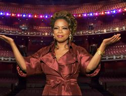 Oprah in the Kodak Theater
