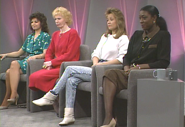 Guests on a classic episode of The Oprah Show.
