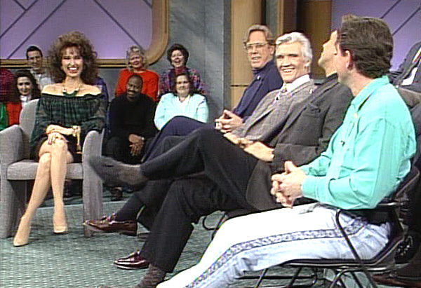 Actress Susan Lucci and her TV husbands