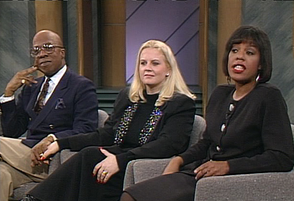 Guests on a classic episode of The Oprah Show