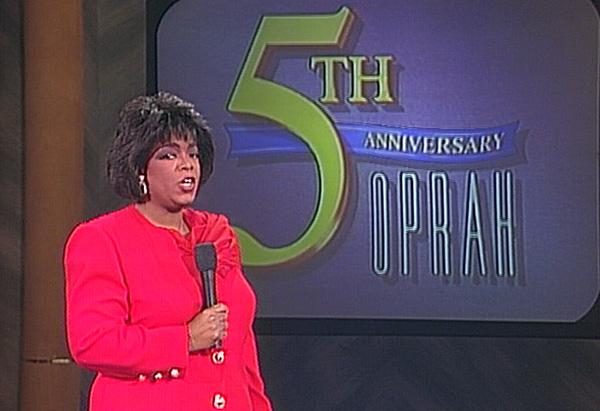 Oprah's fifth anniversary show