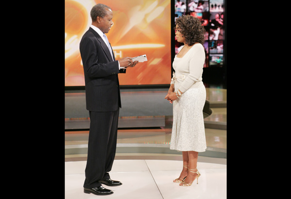 Oprah in Valentino and Tuleh
