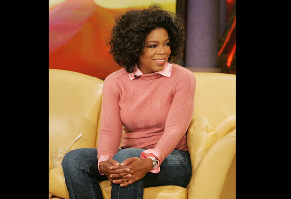 Oprah in Citizens of Humanity Jeans