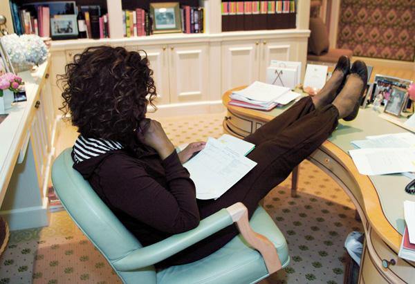 Oprah's Prada flats