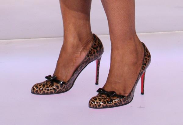 Oprah's leopard-print Louboutins