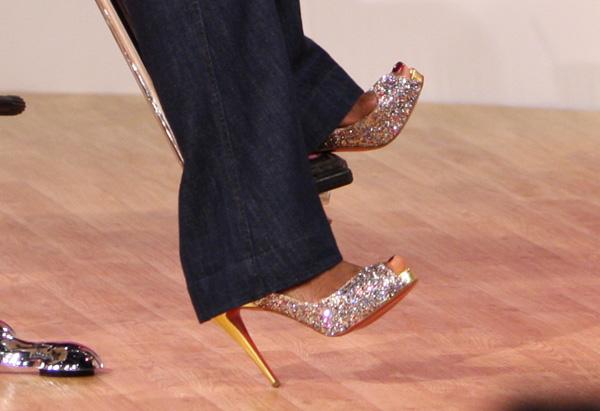 Oprah's Dorothy shoes