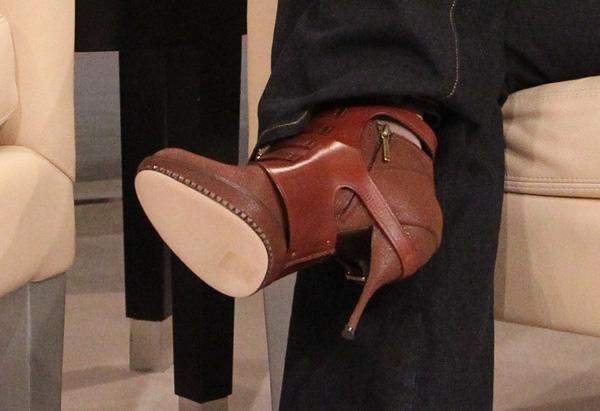 Oprah's boots
