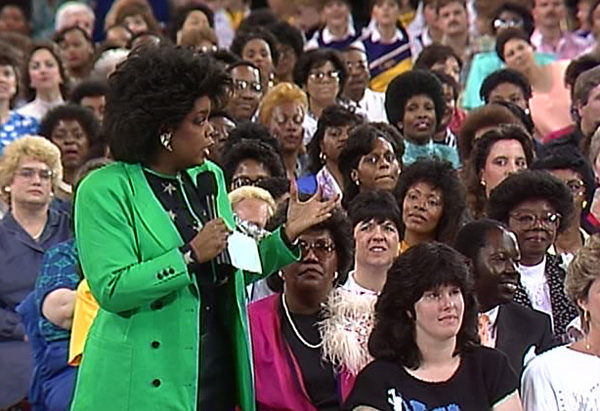 Oprah in Raleigh-Durham in 1988