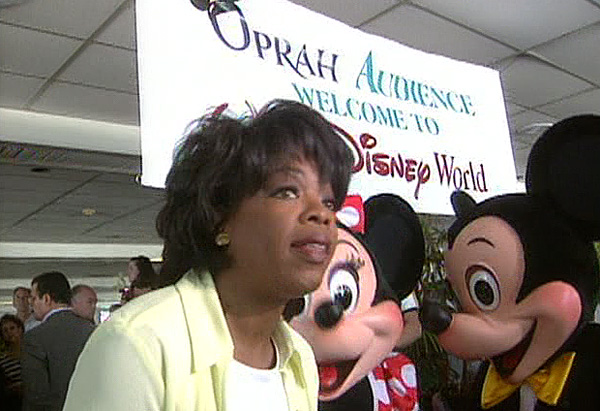 Oprah at Disney World