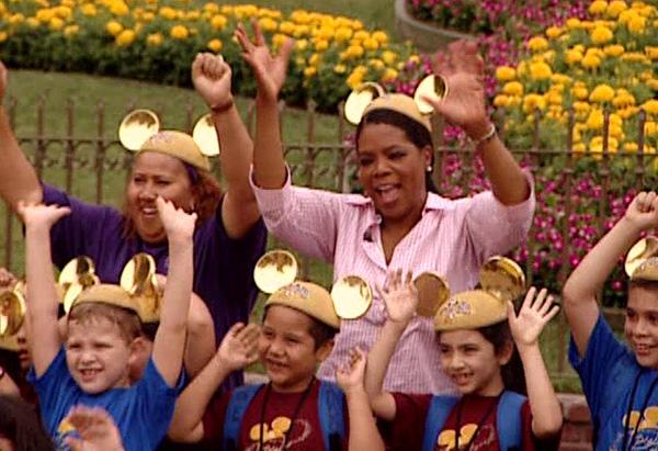 Ms. Quinney's class at Disneyland
